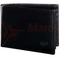 Portofel Fox Bifold Leather Wallet black