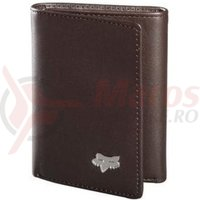 Portofel Fox Leather Trifold Wallet