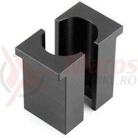 Presa Adaptoare RockShox Vise Blocks IFP 23,8mm, SID Kuxe A1+ (2020+) - Negru