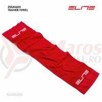 Prosop Elite Zugaman Training Towel Red With White Elite Logo 130x30cm