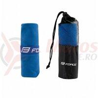 Prosop Force travel, 40x80 cm mini, albastru