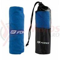 Prosop Force travel, 60x120 cm, albastru