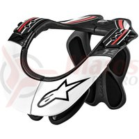 Protectie Alpinestars BNS Pro Neck Support black/red/white