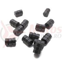 Protectie cadru pt cablu Crosser DN-120 1.2mm (10buc) - negru