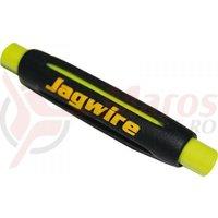 Protectie cadru ptr. bowden (frana+schimbator) silicon tubulara 4G Jagwire (CHA066) neagra
