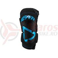 Protectie genunchi Leatt Knee Guard 3DF 5.0 Zip Fuel/Black