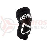 Protectie genunchi Leatt Knee Guard 3DF 5.0 ZIP White/Black