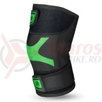 Protectie Genunchi ROCKBROS Black/Green LF3103, 25-50 cm, 1 buc