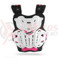 Protectie Leatt Chest Protector 4.5 Jacky wht/pink