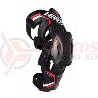 Protectie Leatt Knee Brace X-frame Pro carbon black/red