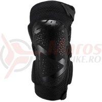 Protectie Leatt Knee Guard 3Df 5.0 Zip black