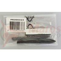 Protectii de tample si nas pentru ochelari PRO pentru Mach 2 / 1set bk