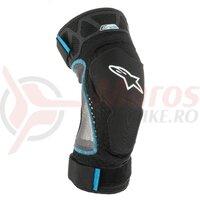 Protectii genunchi Alpinestars E-Ride Knee Protector Negru / Albastru