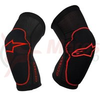Protectii genunchi Alpinestars Paragon Knee Protector black/red