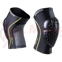 Protectii genunchi Alpinestars Vento Knee Protector black/acid yellow