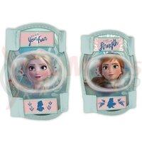 Protectii genunchi si coate copii Seven Frozen 2