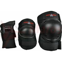 Protectii skate Triple Eight, 3-pack - negru