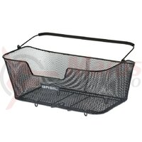 Cos transport Basil Base XL steel cm, black, broad-meshed
