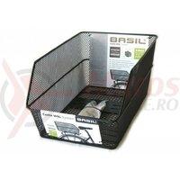 Cos pentru portbagaj Basil Cento WSL 39x24x21cm, negru, close meshed