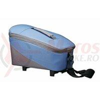 Geanta Racktime System Bag Talis blue/grey, incl. Snapit Adapter