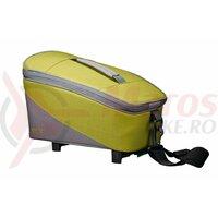 Geanta Racktime System Bag Talis green/grey, incl. Snapit Adapter