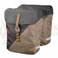 Set genti portbagaj Racktime System Heda sand/grey, incl. Snapit Adapter