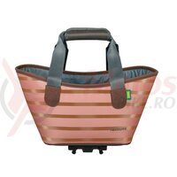 Geanta Racktime System shopper Agnetha rosegold, incl. Snapit adapter