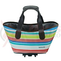 Geanta Racktime System shopping bag Agnetha sweet candy, incl. Snapit adapter