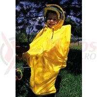 Pelerina ploaie Hock Rain-Bow uni/yellow pentru copii.