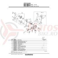 RD-M972-SGS Shimano XTR placa exterioara