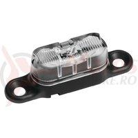 Lumina spate B&M Toplight Line mic cu parkinglight, 50mm, sticla transparenta
