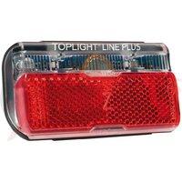 Rear light B&M Toplight Line brake plus Brake light function & side light, 80mm