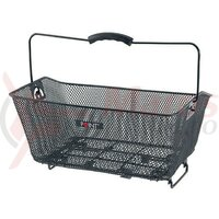 Cos bicicleta spate Point 40X30x17 cm, small mashed,black