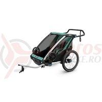 Remorca Thule Chariot Lite1 turcoaz 1 copil