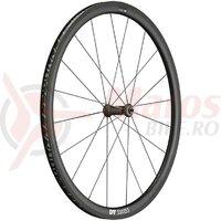 Roata fata DT Swiss PRC 1400 Spline 35 carbon, black, 100/5mm QR