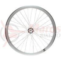 Roata fata single speed/fixie 700x32H-40 mm SXT alba
