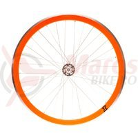 Roata fata single speed/fixie 700x32H-40 mm SXT portocalie
