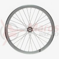 Roata fata single speed/fixie 700x32H-40 mm SXT silver