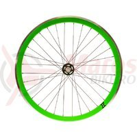 Roata fata single speed/fixie 700x32H-40 mm SXT verde