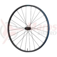 Roata Shimano WH-RX570-700C spate 24h pt. 10/11 v Old 142mm ax 12mm E-THRU tubeless negru center lock