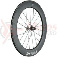 Roata spate DT Swiss ARC 1100 Dicut 80 carbon, black, 130/5mm QR