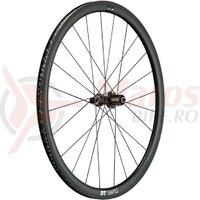 Roata spate DT Swiss PRC 1400 Spline 35 carbon, black, 130/5mm QR, Shimano
