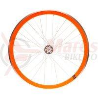 Roata spate single speed/fixie 700x32H-40 mm SXT portocalie