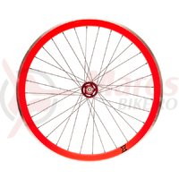 Roata spate single speed/fixie rosu 700x32h-40 mm SXT