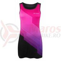 Rochie sport Force Abby roz/negru