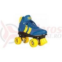 Role Rookie Retro V2 albastru cu galben
