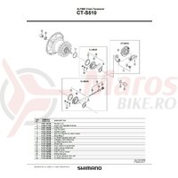 Role Shimano CT-S510