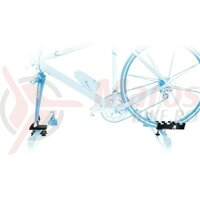 Rooftop bike carrier Peruzzo Rolle also for Disc Brake