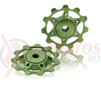Rotite schimbator XLC lime compatibil Shimano 8/9/10-G Campa 9