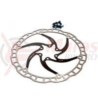 Rotor Disc Fibrax Fcr180ULB -diametru 180 mm  Negru